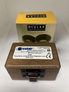 Ocular Three Mirror Universal Diagnostic Lens- 18mm OG3M