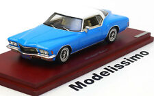 1:43 True Scale Buick Riviera 1971 blue/white