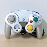 GameCube Wired Controller Remote For Nintendo GameCube GC Wii Console Silver