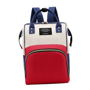 Multi-function Mummy Bag Backpack with Insulated Pockets for Milk Bottles