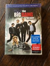 The Big Bang Theory:The Complete Fourth Season (DVD, 2011,3-Disc Set) Brand New!