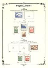 PAGES D´ALBUM - EMPIRE ALLEMAND - GERMAN EMPIRE - 1872-->1945
