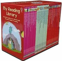 Usborne My Reading Library 50 Books Gift Set Collection Level 3 to 6 (Red Box)