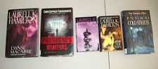 Young Adult Teen Book Lot 5 VAMPIRE Laurell K. Hamilton Vampire Hunter Series