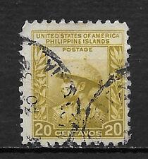 PHILIPPINES , USA, 1935 , JUAN DE LA CRUZ , 20c STAMP PERF, USED