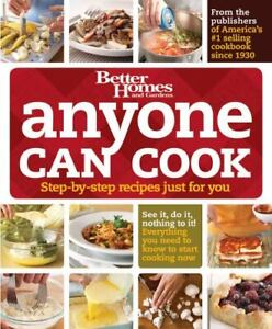Anyone Can Cook (Better Homes & Gardens Cooking), Better Homes and Gardens,06962