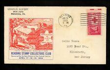 US Postal History Explorers Daniel Boone Native Son Homestead 1953 Reading PA