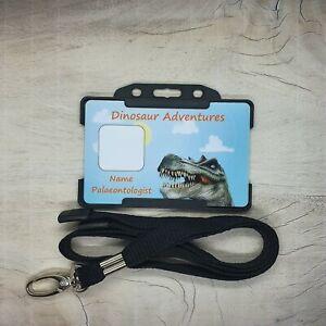 Dinosaur Dino Palaeontologist explorer Roleplay ID Card Dress Up