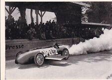 FRITZ VON OPEL im RAKETEN - AUTO von MAX VALIER * AVUS 1928  * Sammelbild 1952