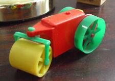 Vintage 1950s Allied USA Hard Plastic Steamroller