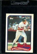 1989 TOPPS TIFFANY #630 MIKE GREENWELL BOSTON RED SOX