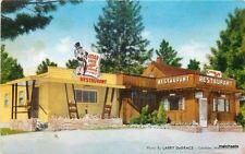 1950s Cedar Lodge roadside Templeton Massachusetts Manfredi postcard 5297