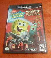 SpongeBob SquarePants Creature from the Krusty Krab Nintendo GameCube THQ
