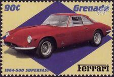1964 FERRARI 500 SUPERFAST Sports Car Stamp (2000 Grenada)