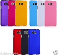 Pellicola + Custodia HARD MATTE Back Cover Case per Samsung Galaxy Alpha G850F