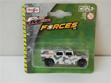 Macchina Fuoristrada MAISTO FRESH METAL FORCES 3.0 mezzi militari Humvee R109