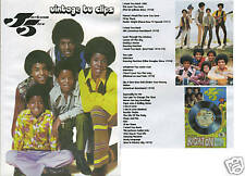 Jackson Five Vintage TV clips DVD - Michael Jackson 5 ABC - Mexico City Like New