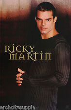 POSTER:MUSIC: RICKY MARTIN - DARK GRAY SWEATER - FREE SHIPPING !! #7545 RW5 J