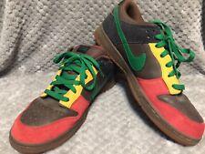 47305688 Retro Nike Dunk Low 6.0 SB Rasta Men's 13 RARE Gum Sole AWESOME Shoes Skate