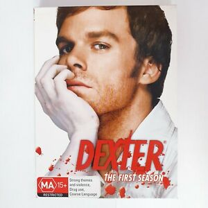 Dexter TV Series Season 1 DVD Set Region 4 PAL AUS Free Postage