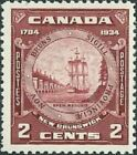 Canada   # 210    NEW BRUNSWICK SEAL    Brand New 1933 Pristine Original Gum