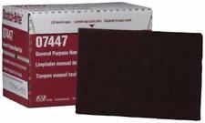 3M 07447 Red Scotch-Brite General Purpose Very Fine Grade 6x9 Hand Pad Box of 20
