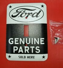 FORD GENUINE PARTS LIGHT SWITCH COVER PLATE MANCAVE Garage Gas Station Oil METAL