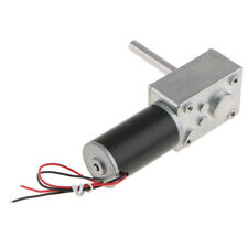 High Torque Reversible Worm Gearbox 24V DC Geared Motor Multiple RPM Choices