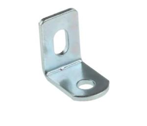 Steel Angle Bracket Metal 15mm x 15mm 2 Hole Zinc 90° Brackets & Slots 10 PACK
