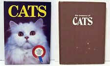 2 Books For Cat Lovers - Cats & Treasury Of Cats - Vintage