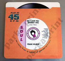 Northern Soul Placemat, Record Placemat, Motown Placemat, Do I Love You Placemat