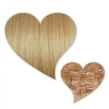 Clip-In Extensions 60 cm 130 Grammes blond moyen #16 Postiches