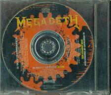 Megadeth - Promo Thunder Italy Press 3 Tracks Cd Perfetto