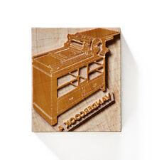 Letterpress Vandercook Printing Press 4 - Wood type - 12/14 line (50,8/59,8mm)