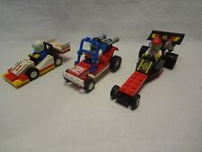 LEGO® City 6503 Sprint Racer, 6526 Red Line Racer, 6528 Sand Storm Racer