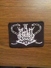 BLUT AUS NORD,SEW ON WHITE EMBROIDERED PATCH