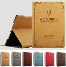 "✔ BUCK Schutz Hülle+Folie Apple iPad 2 & 3 & 4 (9.7"") Tasche Cover Smart Case 6F"