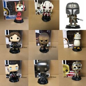 New Star Wars Action Figure Funko Pop General Grievous Queen Amidala With Box