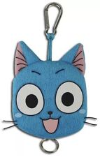 *NEW* Fairy Tail Happy Plush Keychain Key Chain GE Animation AUTHENTIC BRAND NWT