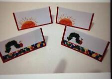 8 x The Very Hungry Caterpillar Birthday Party Table Food  Place Tags / Tents