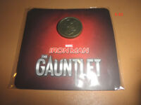 IRON MAN gauntlet MINI PIN marvel eoin colfer SDCC comic con promo toy