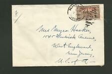PANAMA AGENCY AIR MAIL COVER TO USA