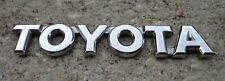 Toyota trunk emblem badge decal logo chrome rear Camry Corolla Prius OEM Stock