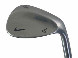 "Nike Swoosh Logo Lob Wedge 60° Forged Steel Shaft RH 35"" All Original"