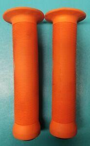 ODI Longneck Soft Flanged BMX Grips (Orange)