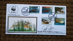 Benham WWF First Day Cover BLCS70. Signed by Phillip Schofield.