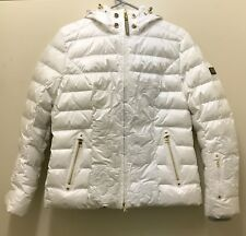 BOGNER SPORT WOMENS SKI JACKET CYRA-D, WHITE - NEW Size 10