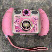 Vtech Kidizoom Twist Digital Zoom Pink Camera Kids Girls Tested & Working