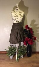 STUNNING LEATHER LOOK SKIRT BY BOHEMIA OF SWEDEN BOHEMIAN, HIPPY, LAGENLOOK