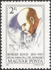 Hungary 1982 Robert Koch/Medical/Health/Tuberculosis/TB/Medicine 1v (n36908)